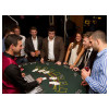 Blackjack Casino Table with Croupier