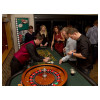 Roulette Casino Table with Croupier