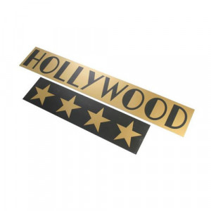 16ft Wide Hollywood Sign & Stars