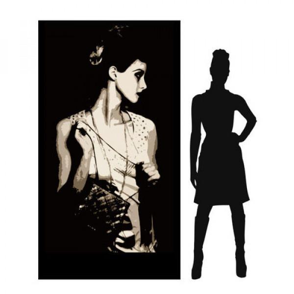 1920's lady (brunette) 1