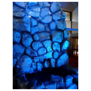 8ft Stone Effect Waterfall