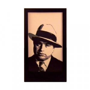Al Capone Silhouette Panel