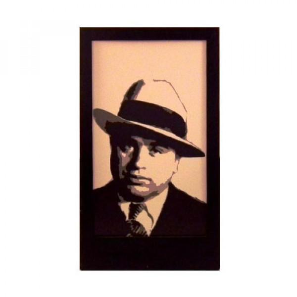 Al Capone Silhouette Panel 1