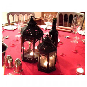 Arabian Lanterns (Black Medium)