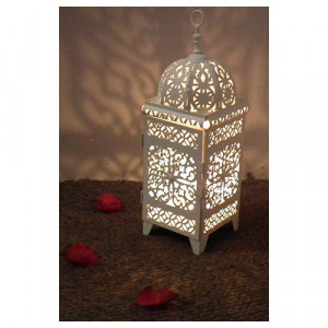 Arabian Lanterns (white)
