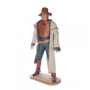 Cowboy - life size resin cast
