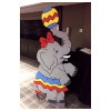 Elephant Cartoon cut out