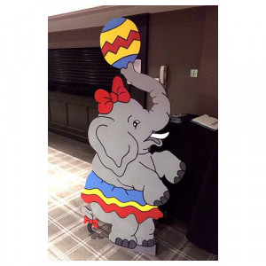 Elephant Cartoon cut out