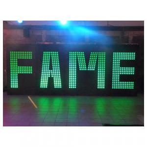 FAME Sign