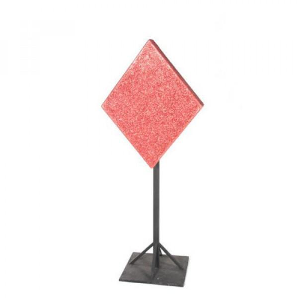 Glittered Diamond on Stand
