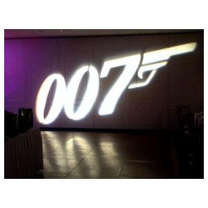 Gobo Inserts - 007 Logo