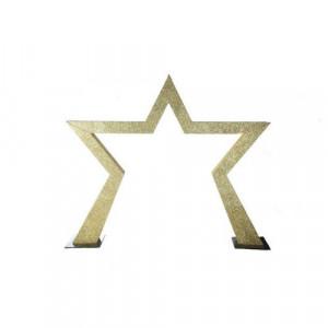 Gold Glitter Star Entranceway