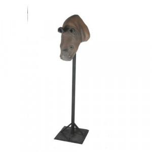 Hippo Head 3D