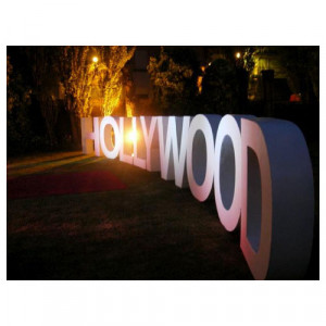 Hollywood Letters (32ft)