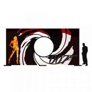 James Bond Backdrop 1 (6Mx3M)
