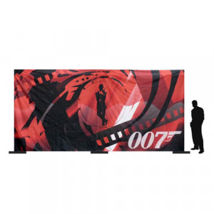 James Bond Backdrop 2 (6Mx3M)