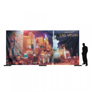 Las Vegas Strip Backdrop (6Mx3M)