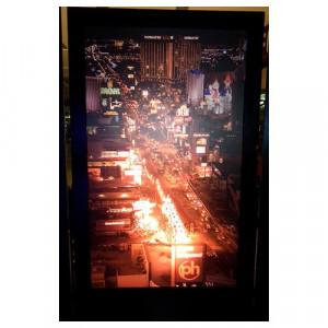 Las Vegas at Night 2 Silhouette Panel
