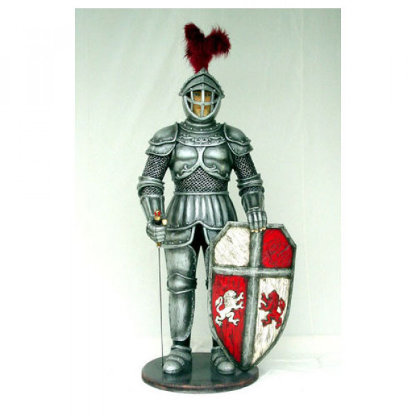 Life Size Knight Statue 1