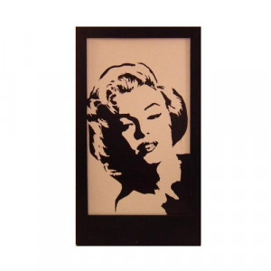 Marilyn Monroe Silhouette Panel