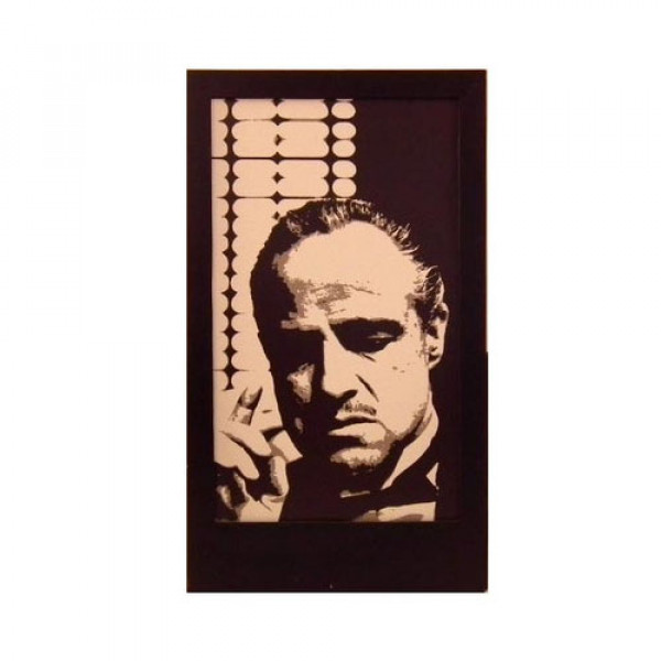 Marlon Brando (Godfather) Silhouette Panel