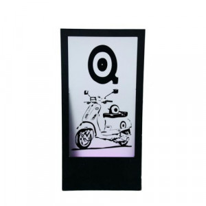 Panel - Quadrophenia Logo & Vespa