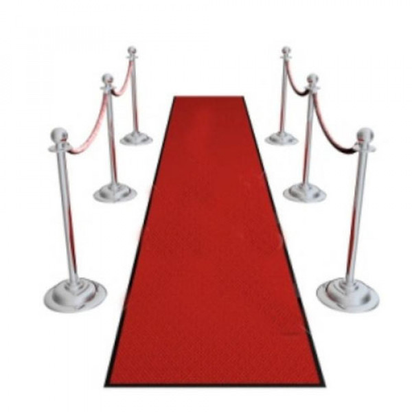 Red Carpet Ropes and Poles