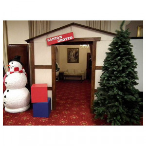 Santa's Grotto Entrance