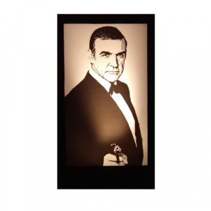 Sean Connery Silhouette Panel