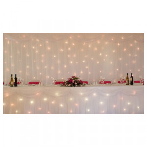 Starlight Backdrop - White 9m x 3m