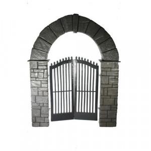 Stone Arch Entranceway
