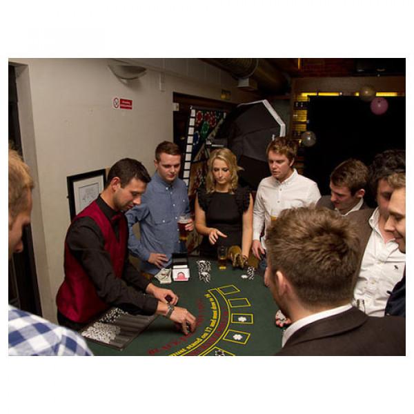 Studd Poker Casino Table with Croupier 1