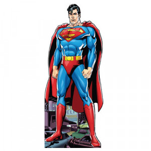 Superman Character Cutout