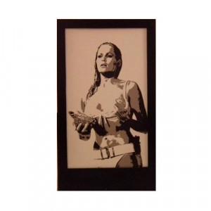 Ursula Andress Silhouette Panel