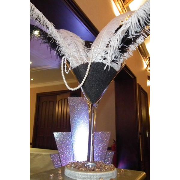 martini-glass-coloured-sand-b&w-feather