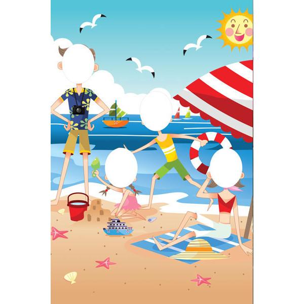 beach-family-peep-board