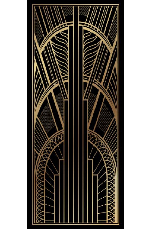 Art Deco Pull Up Banner 1
