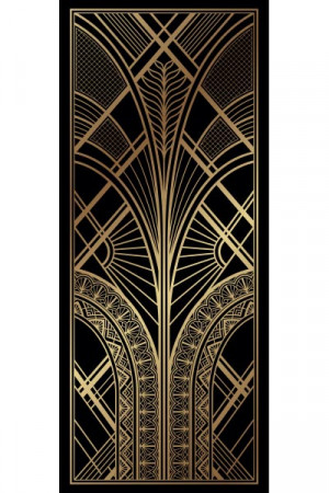 Art Deco Pull Up Banner 2