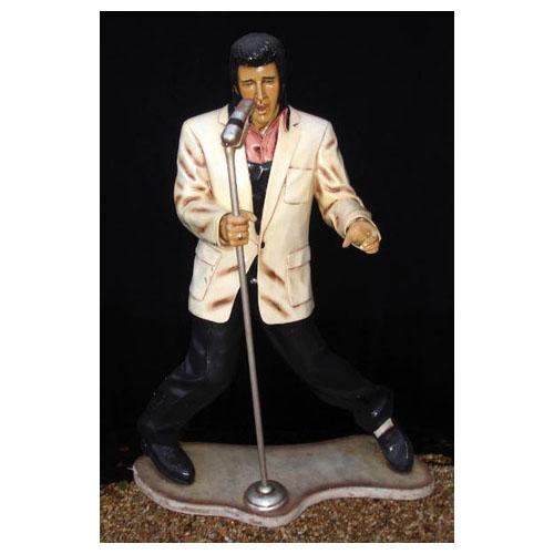 Elvis - life size resin cast