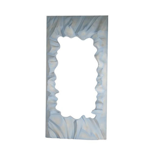Sculpted Silhouette Panel - Ice