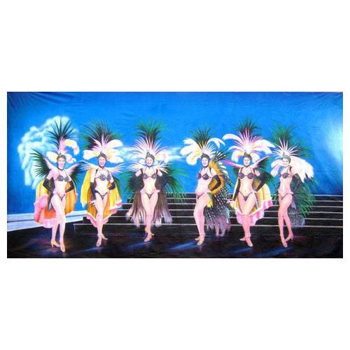Showgirls Backdrop (6Mx3M)
