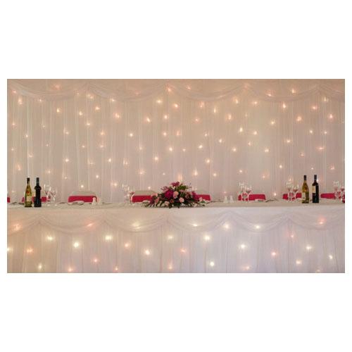 Starlight Backdrop - White 9m x 3m
