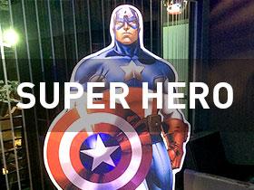 super hero props